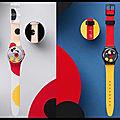 Montre Mirror Spot Mickey - Montre Spot Mickey - <b>Swatch</b> et Damien Hirst