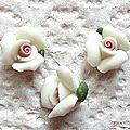 Des fleurs en fimo