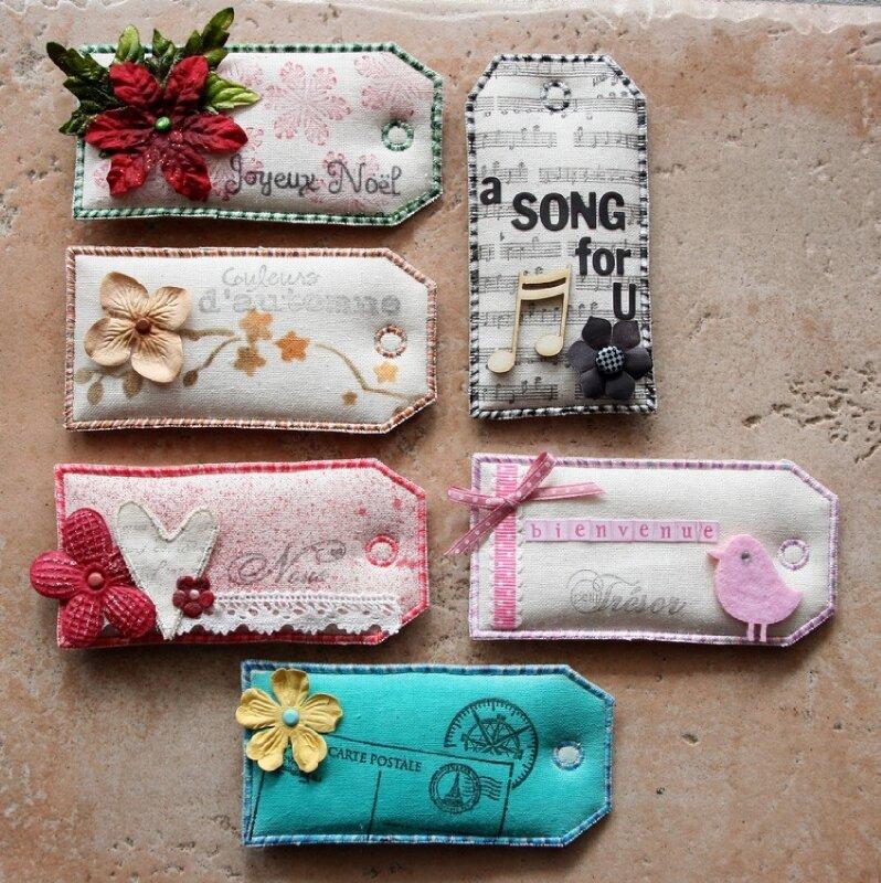 tags décorés 2/04/2011