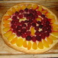 2008 05 27 Une tarte a la pate feuilleté que Cyril a fait aprés cuisson