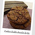 Cookies double chocolat de gü