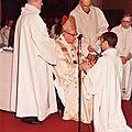 Fourmies - glageon - l'ordination d'un prêtre