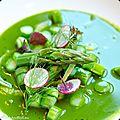 Asperges vertes Regalys à la sauce végétale