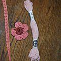 Mercerie, ruban, dentelle de calais et crochet