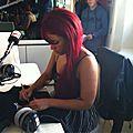 Interview radio d'Amel sur le yatch NRJ
