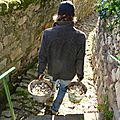Chantier mur du potager 1ere!!