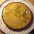 Tarte au citron vert et au sarrasin
