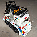 00913 CAMION TYPE AMPHIBIE (8) RALLY DAKAR MARQUE SMOBY (MOB SUPERJOUET)