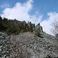 2008 04 14 Avans l'arrivé du Pic du Lizieux, le Lauzière