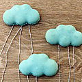 Macarons nuages, macanuages {gabarit inside!}