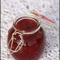 Confiture quetsches~pommes à la vanille