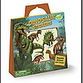 Peaceable kingdom – kit décors et stickers – dinosaure – a partir de 3 ans