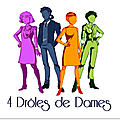 s- 4 DROLES DE DAMES un logo