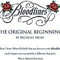 Premier chapitre original de <b>Bloodlines</b> du point de vue d'Adrian