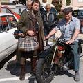 Argeo Moretti ,motard dans les années 40 et encore aujourd'hui à 84 ans