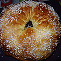 Brioche de rois light à la map