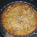 Gâteau tatin pommes à la cannelle