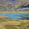 Lac d'Anterne, chaîne des Fiz, Haute-Savoie