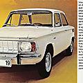 NSU Typ 110 - 1965-1967 - Publicité