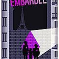 """Embardee de christophe léon """"le losange rose"""