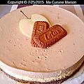 Cheesecake pomme speculoos (recette maison)