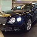 Nouveautés : la Bentley Continental <b>GTC</b> repérée