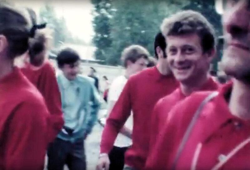 Bernard DAILLE défilé BSM 1969