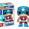 Pop heroes steel patriot