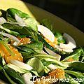 Salade de mâche vitaminée