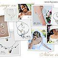 Création de bijoux mariage en perle de nacre ivoire