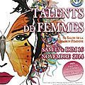 Salon Talents de Femmes de Béthune les 15 et 16 novembre 2014
