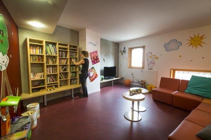 Maison RM de Grenoble_bibliothèque