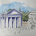 N° 74-75 carnet de voyage / travel sketchbook : rome