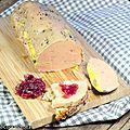 Foie gras au rhum tanuki