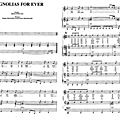 Magnolias for ever (partition - sheet music)