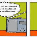 Georges et les candidats
