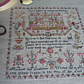 1846 Margaret Jane LEADBETTER Sampler...