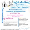 Un agri-dating original dans l'Allier le 15 octobre pour que notre événement <b>Communication</b> prenne tout son sens ...