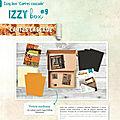 Nouveautes Izzy de septembre 2020, nouveautes Azza CLub et video carte <b>cascade</b>.