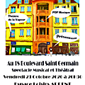 Soirée Théâtre organisée par le Théâtre de la Vapeur