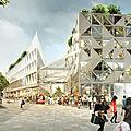 Caen: la place de la république sera transformée en parvis de centre commercial