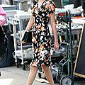 Taylor swift est fans incontestée de la robe fleurie !