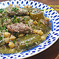 <b>DOLMA</b> COURGETTES - DOLMET JRAYWET BÔNOISE - COURGETTES FARCIES