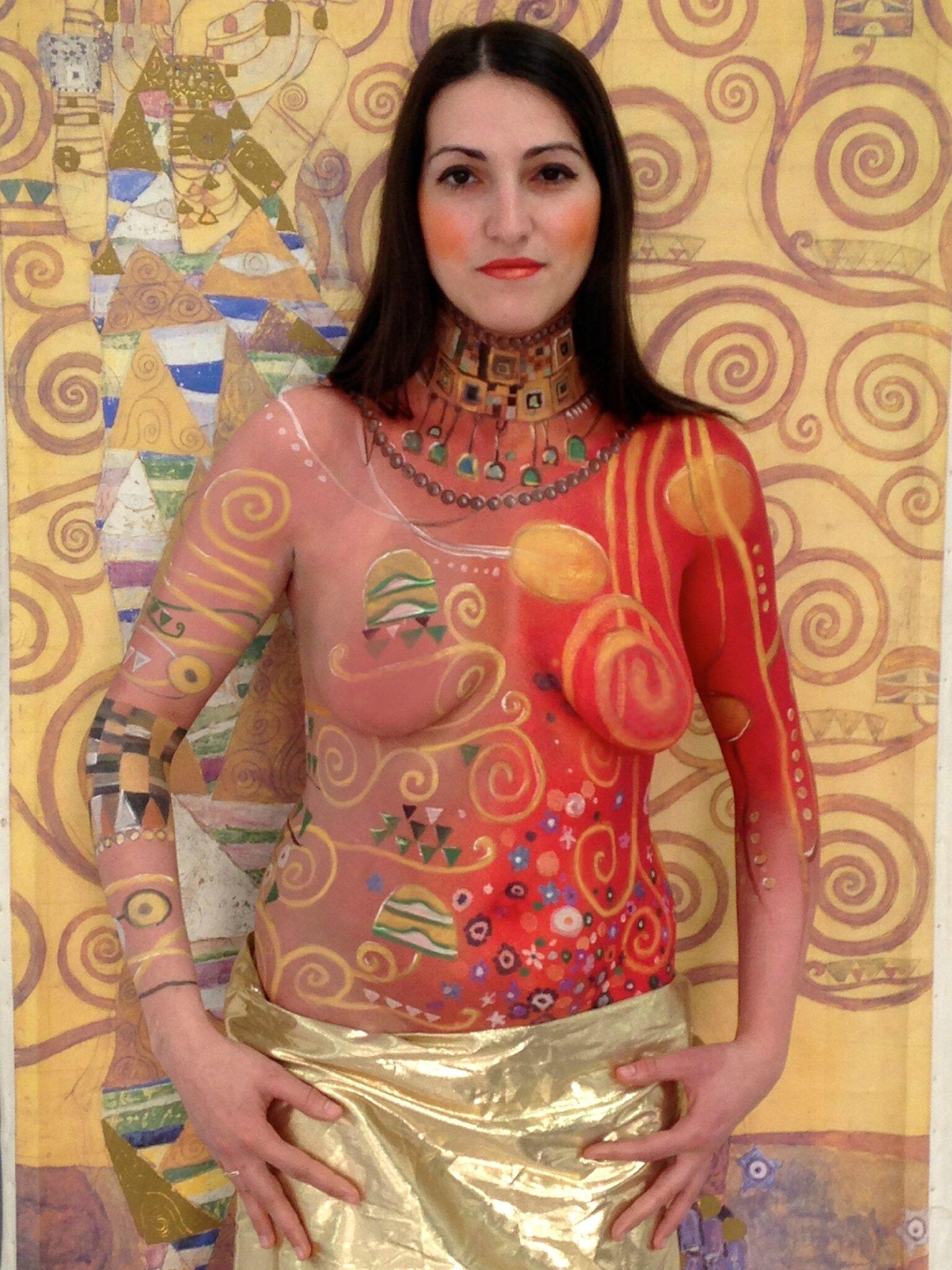 Bodypaint Klimt