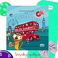 Cat and Mouse go to <b>London</b>, cycles 2 et 3, séquence This is ... et localisation Where is ... ?