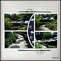 Lac de Bambois - Jardin aux parapluies