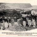 La translation des restes des combattants du marabout