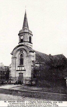 Nantes - église St-Donatien