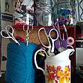 Mon matériel créatif : les ciseaux