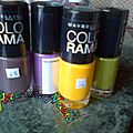 Test : le vernis colorama